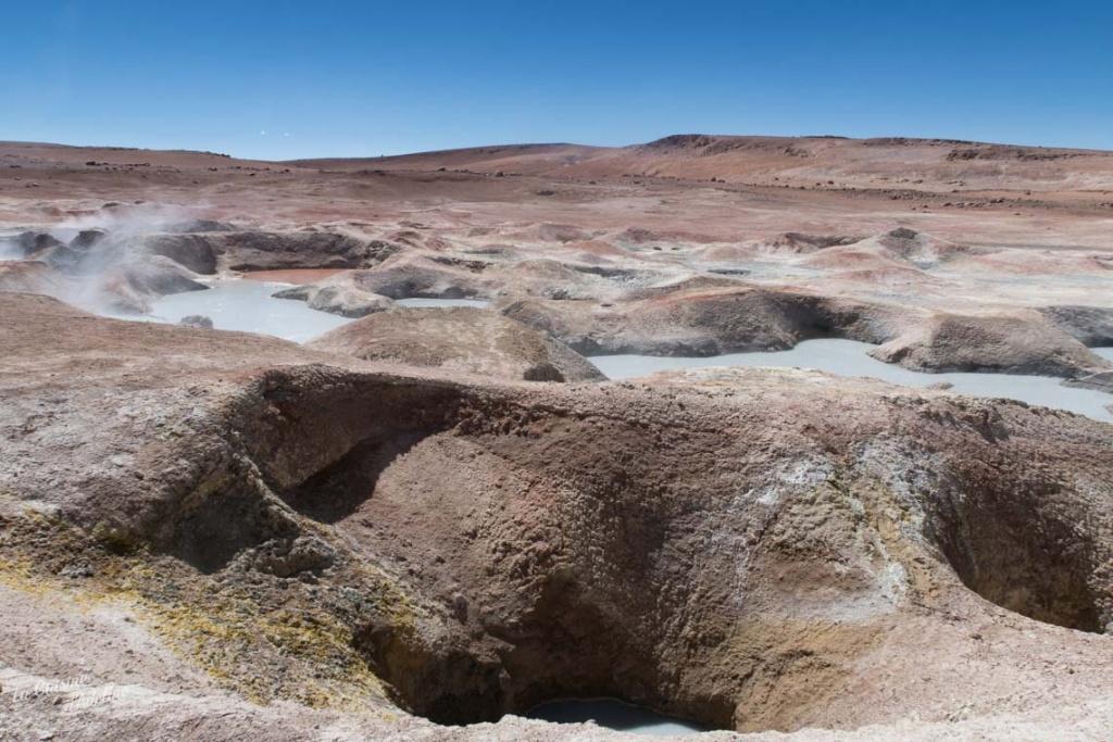 Geyser sol de manaña Bolivie