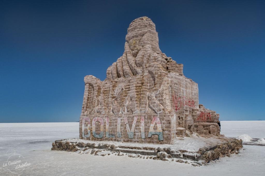 Paris Dakar Bolivie monument