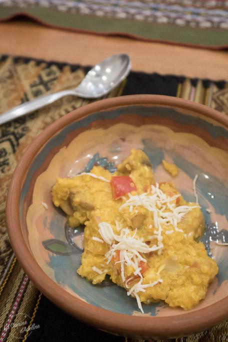 Risotto de quinoa cours de cuisine Pérou