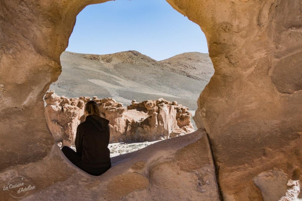 Salar d'Uyuni formations rocheuses