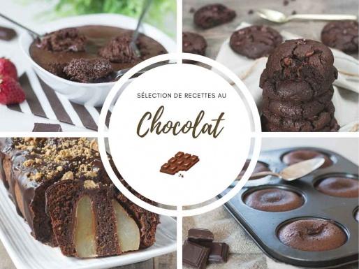 Chocolat : sélection de recettes faciles et gourmandes