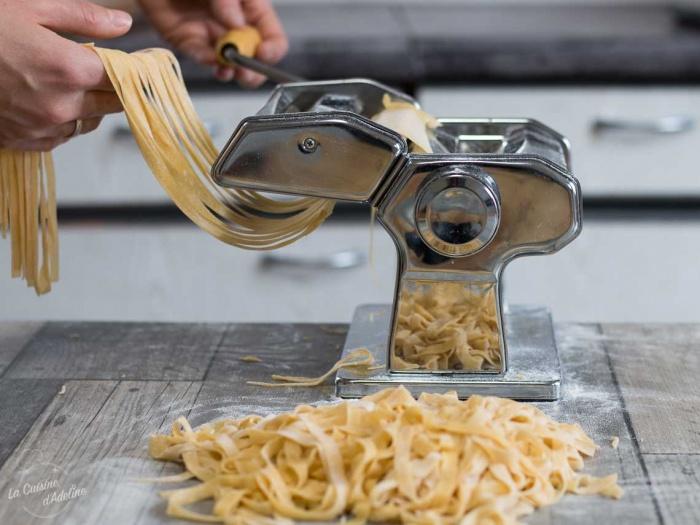 Pates Fraiches Maison Avec Ou Sans Laminoir La Cuisine D Adeline