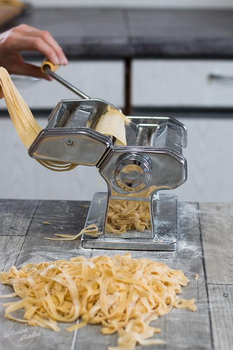Pâtes fraîches maison recette italienne avec ou sans laminoir