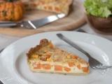 Quiche carottes et courge recette facile