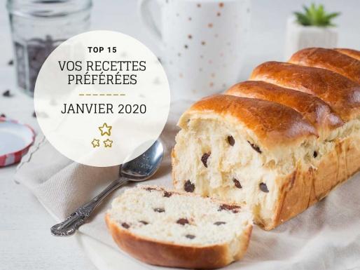 Recettes préférées en janvier 2020 blog recette