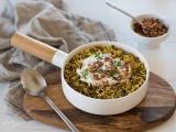 Riz aux lentilles recettes végétarienne rapide
