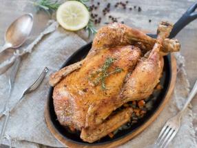 Poulet rôti croustillant et juteux recette