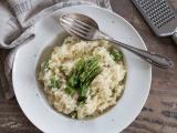 Risotto aux asperges vertes et parmesan recette