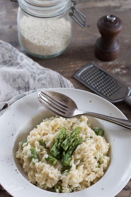 Risotto aux asperges vertes recette