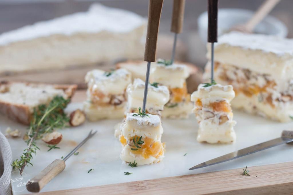 Brie farci recette originale apéritif dînatoire