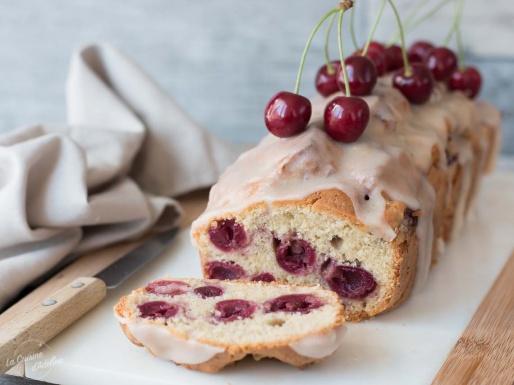 Cake aux cerises recette facile