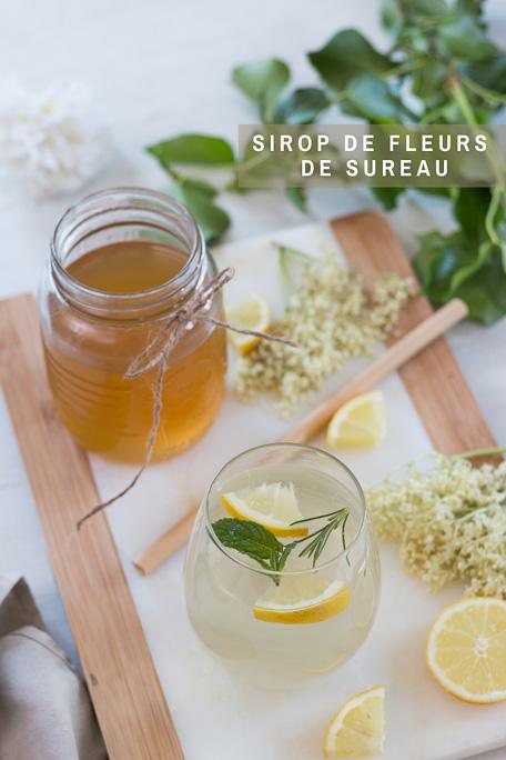 Sirop de fleurs de sureau recette Pinterest