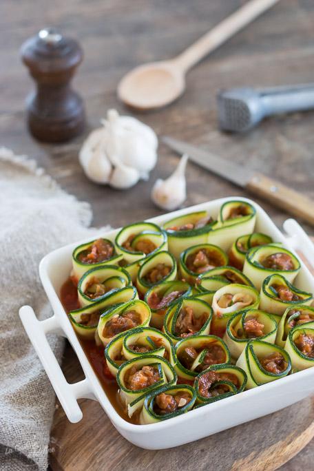 Cannellonis de courgette recette