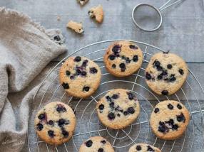 Cookies aux myrtilles