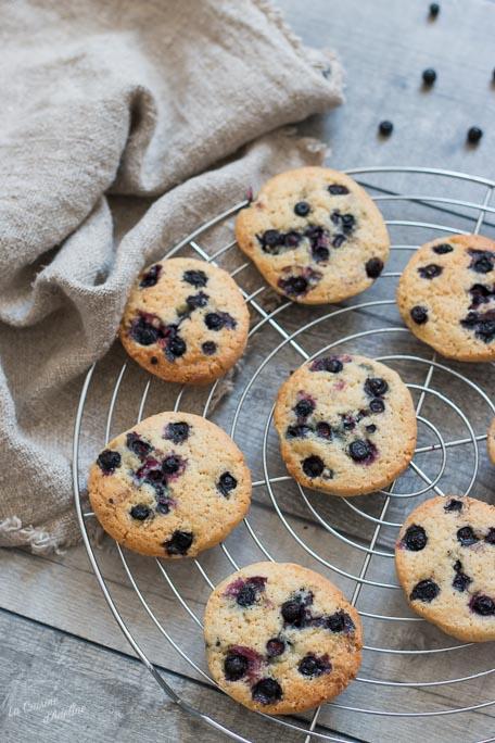 Cookies aux myrtilles recette facile