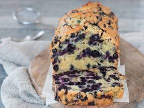 Cake aux myrtilles recette gourmande
