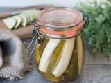 Courgettes au vinaigre comme des pickles recette