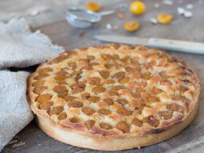 Tarte aux mirabelles et crème d'amande recette originale