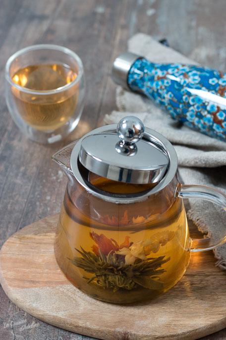 Fleur de thé gourde qwetch