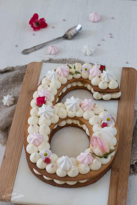 Number cake vanille et poires caramélisées recette facile