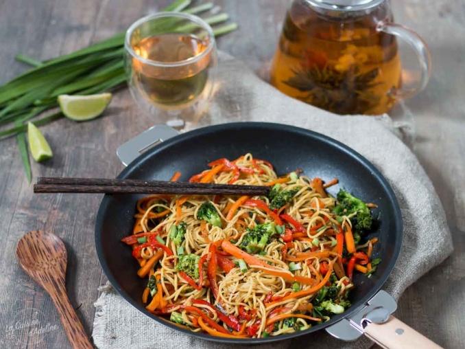 Wok de légumes recette asiatique facile