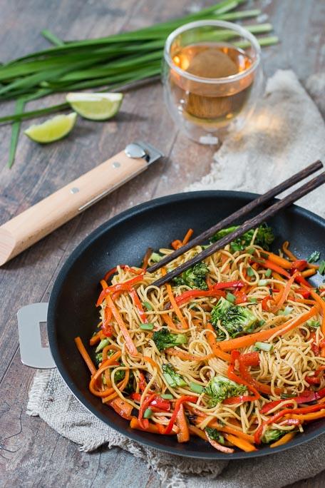 Wok de légumes recette asiatique facile et rapide