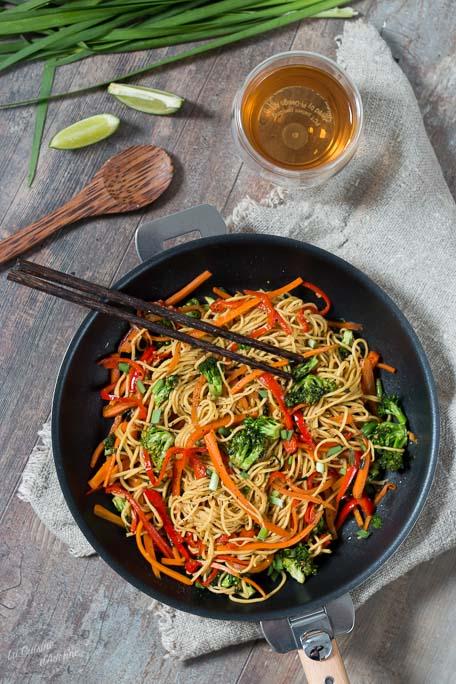 Wok de légumes recette rapide