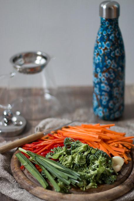 Wok de légumes végétarien