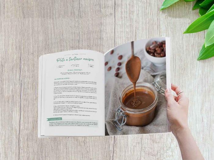 Livre de recettes zéro déchet La cuisine d'Adeline