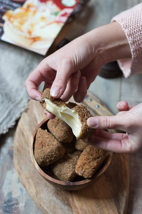 Fromage pané aux herbes de Provence recette