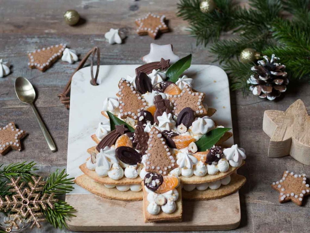 Sapin de Noël façon number cake recette