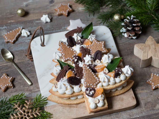 Sapin de Noël façon number cake recette de Noël