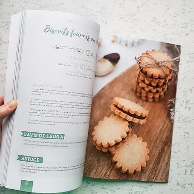 Livre de recettes zéro déchet La cuisine d'Adeline - Intérieur