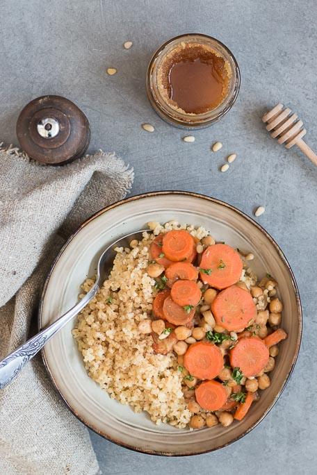 Tajine de carottes recette facile et rapide