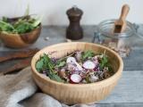 Salade de riz aux lentilles recette facile