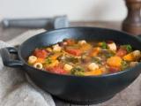 Minestrone recette de soupe italienne